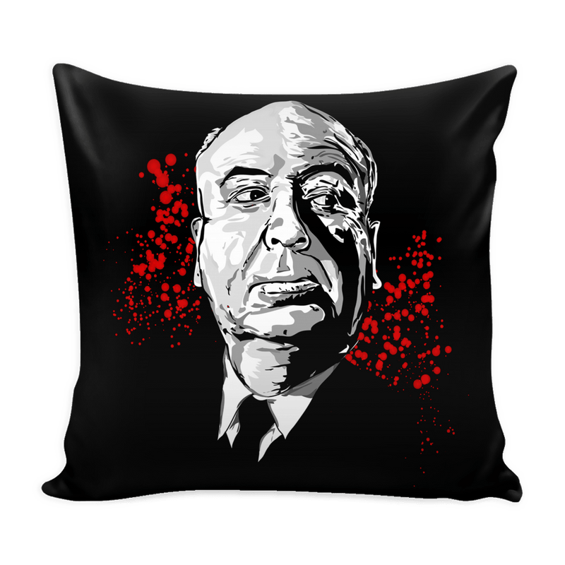 Alfred Hitchcock Pillowcase - Totally Awesome Retro