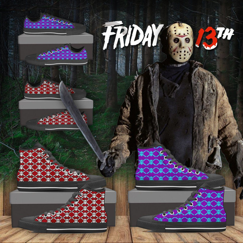 Friday The 13th High Top & Low Top Shoes