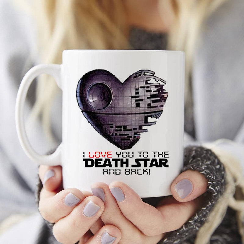 Star Wars I love you to the Death Star and back - Totally Awesome Retro