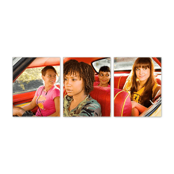 Deathproof- The Girls 3pc Canvas