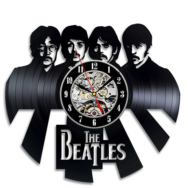 The Beatles Record Wall Clock