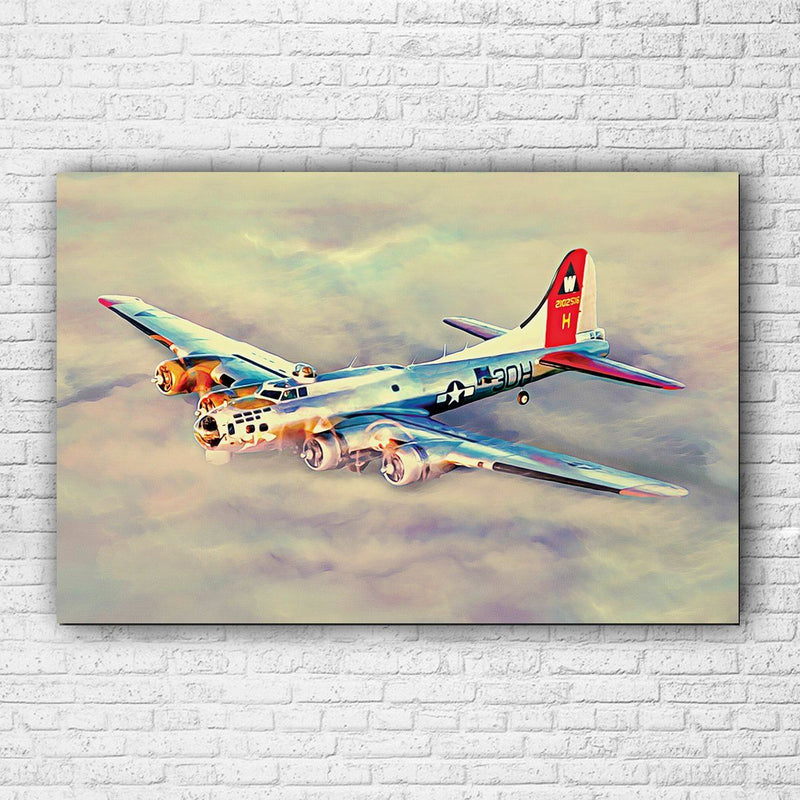 B-17 Flying Fortress Canvas Set - Totally Awesome Retro