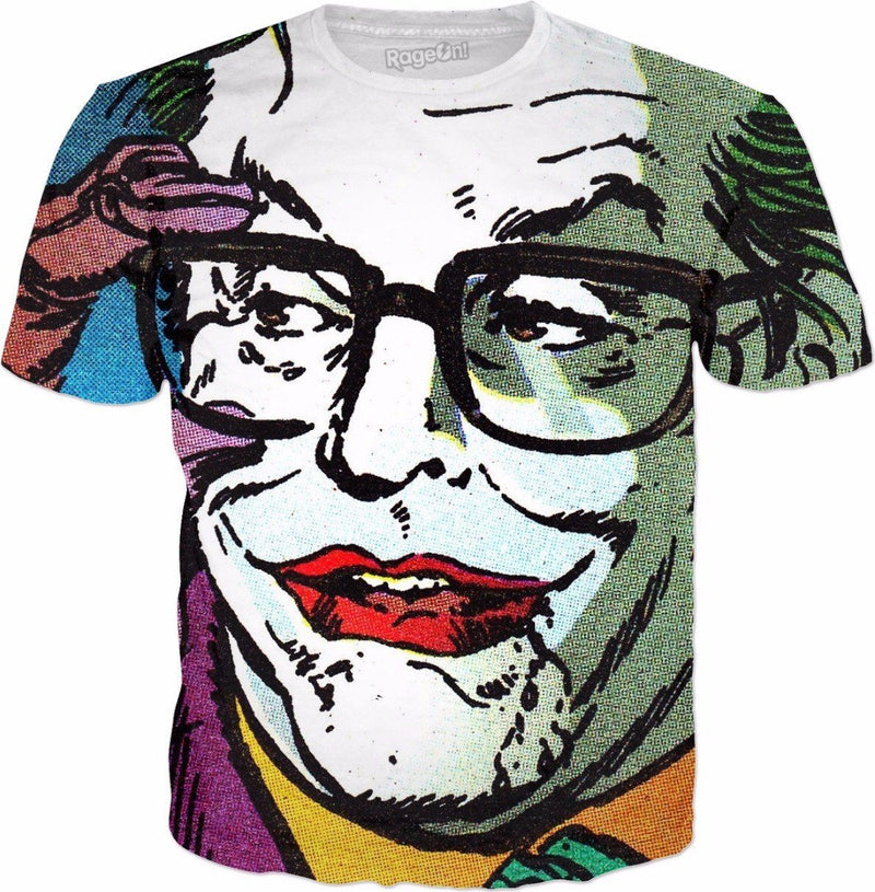 Batman 1989 Joker All Over Tee - Totally Awesome Retro