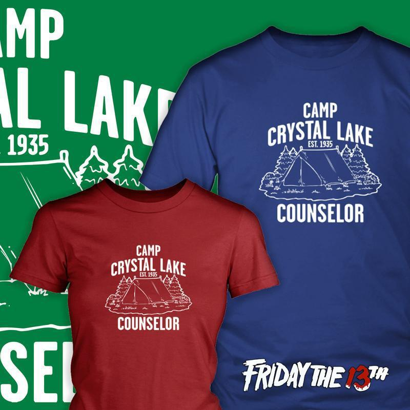 Camp Crystal Lake Counsler Tees