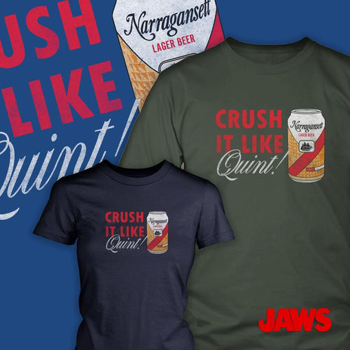JAWS - Crush it like Quint T-Shirt