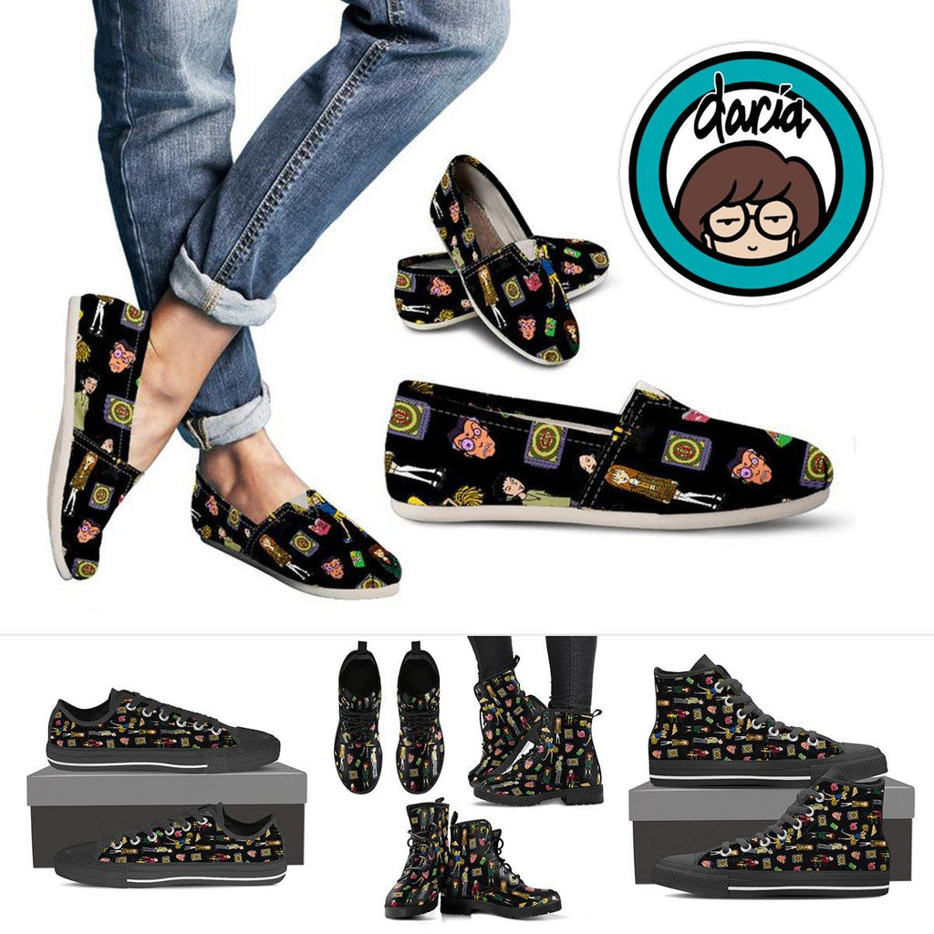 Daria Ladies Canvas Shoes & Boots