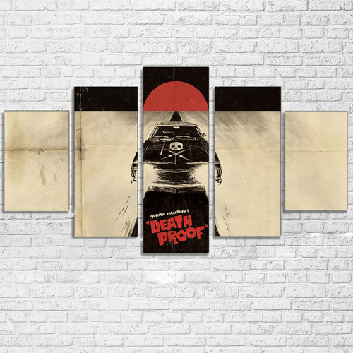 Death Proof Sun 5 Piece Canvas Set