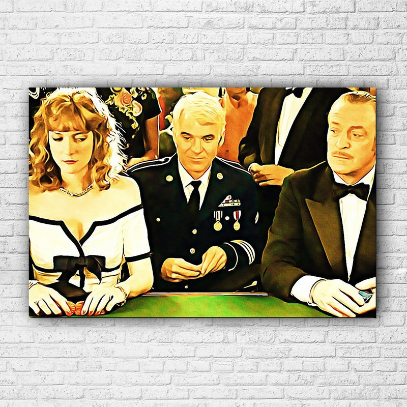 Dirty Rotten Scoundrels Canvas - Totally Awesome Retro