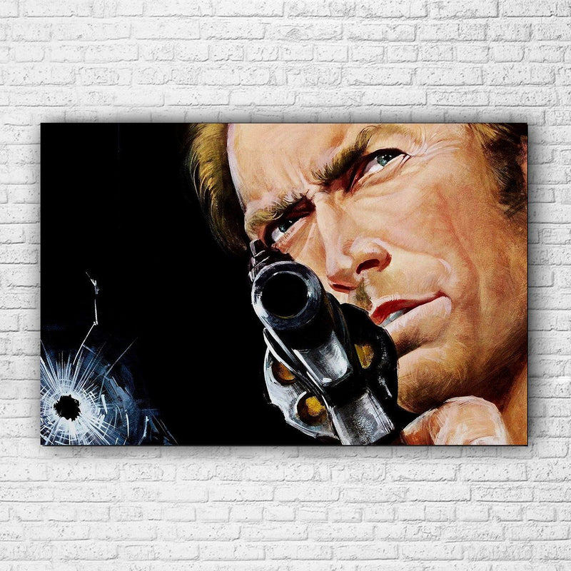 Dirty Harry Canvas - Totally Awesome Retro