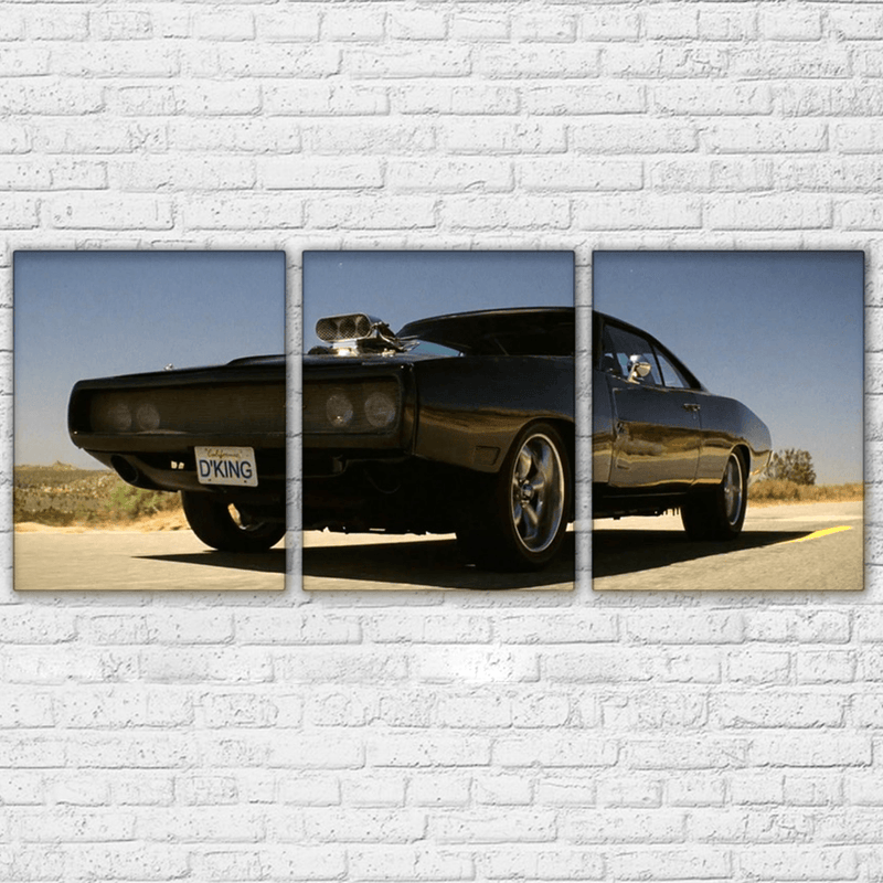 Fast and the Furious Charger 1 Canvas Set