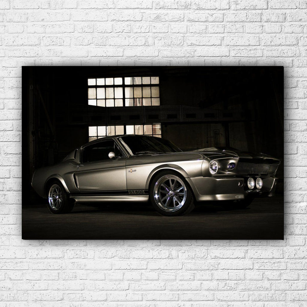 1967 Mustang Shelby GT 500 Elanor Canvas - Totally Awesome Retro