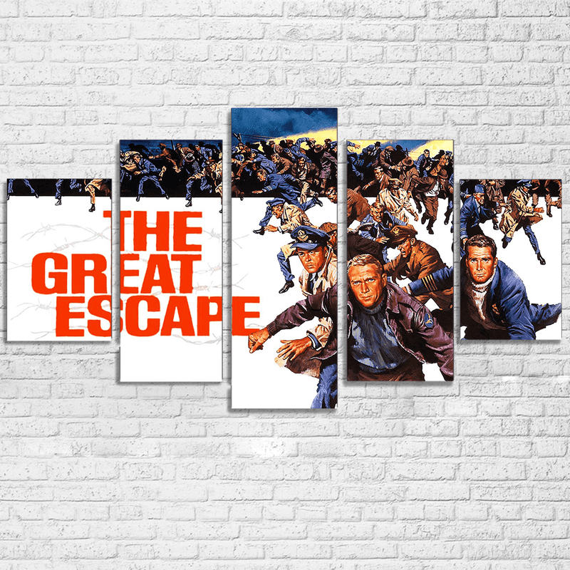 The Great Escape Canvas Set - Totally Awesome Retro