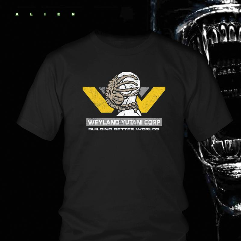Alien-Weyland-Yutani Corp Tshirt - Totally Awesome Retro
