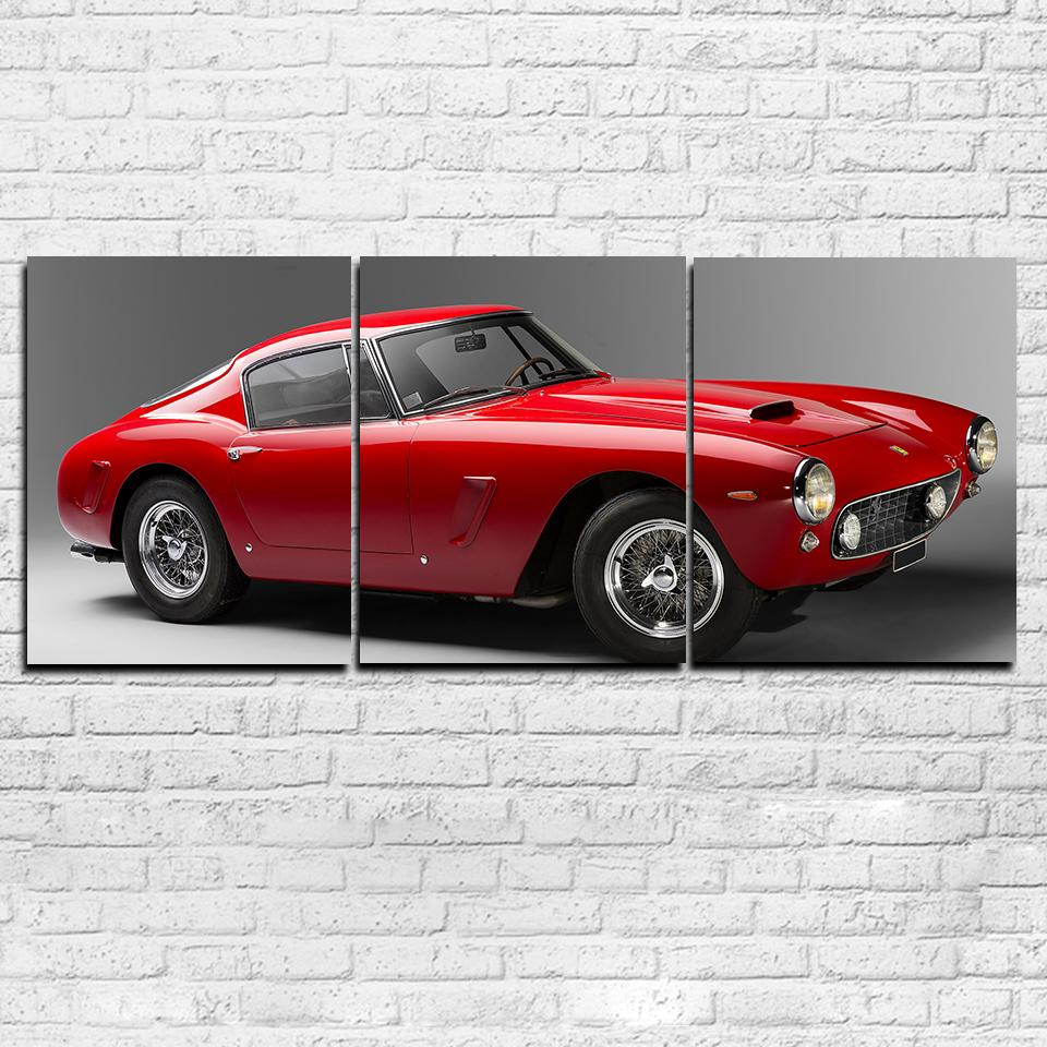 Ferrari 250 GT 3 Piece Canvas Set
