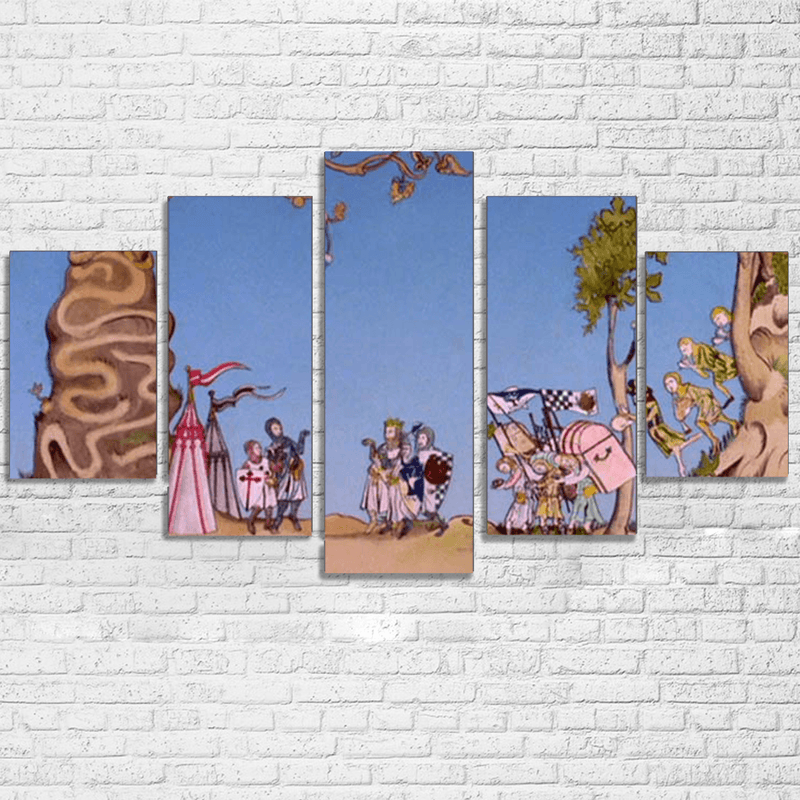 Monty Python Journey Canvas Set