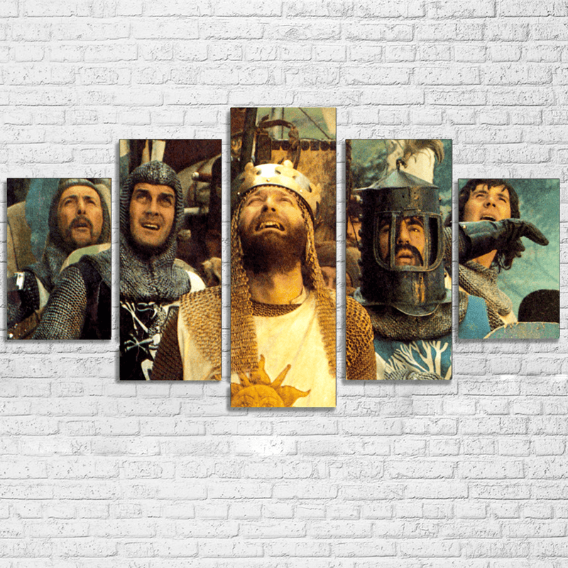 Monty Python King Arthur Canvas Set