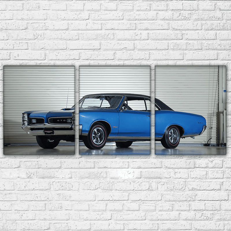 1966 Pontiac GTO 3 Piece Canvas Set - Totally Awesome Retro