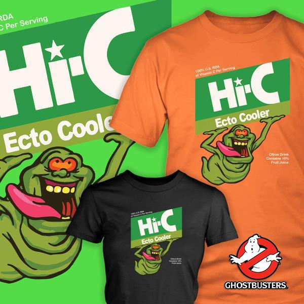 Hi - C Ghostbusters Tshirt - Totally Awesome Retro
