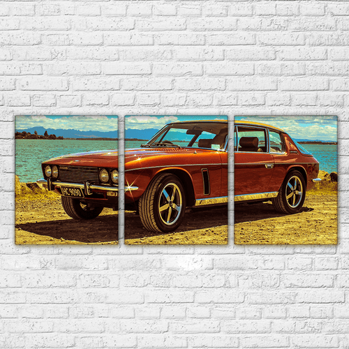 Jensen Interceptor 3 Piece Canvas Set