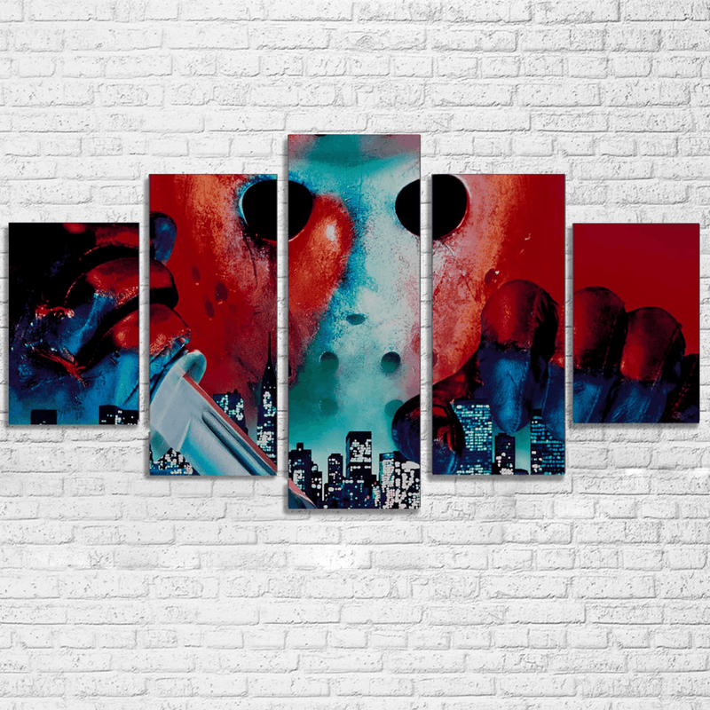 Jason Takes Manhattan 5 Piece Canvas Set
