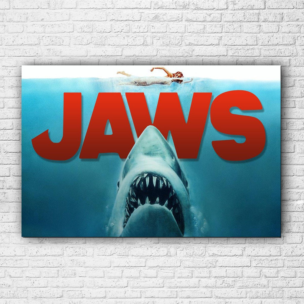 Jaws Canvas - Totally Awesome Retro