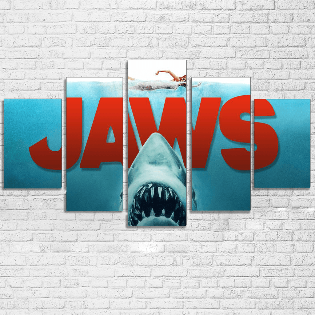 Jaws Canvas Set