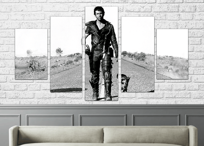 The Road Warrior 5 PC CANVAS