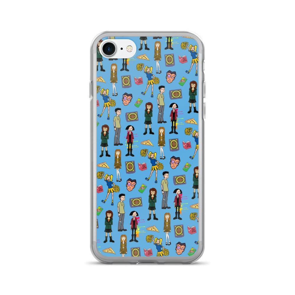 Daria Blue iPhone 7/7 Plus Case