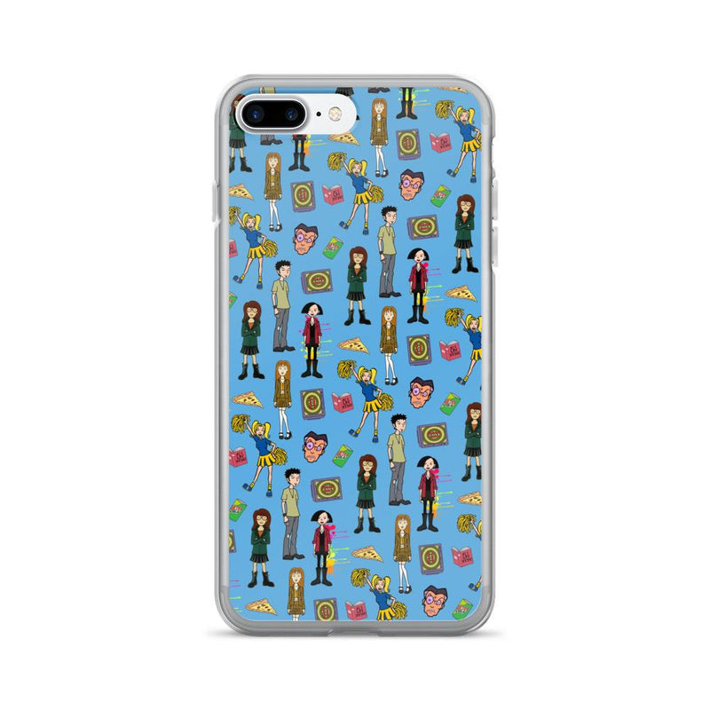 Daria Blue iPhone 7/7 Plus Case - Totally Awesome Retro