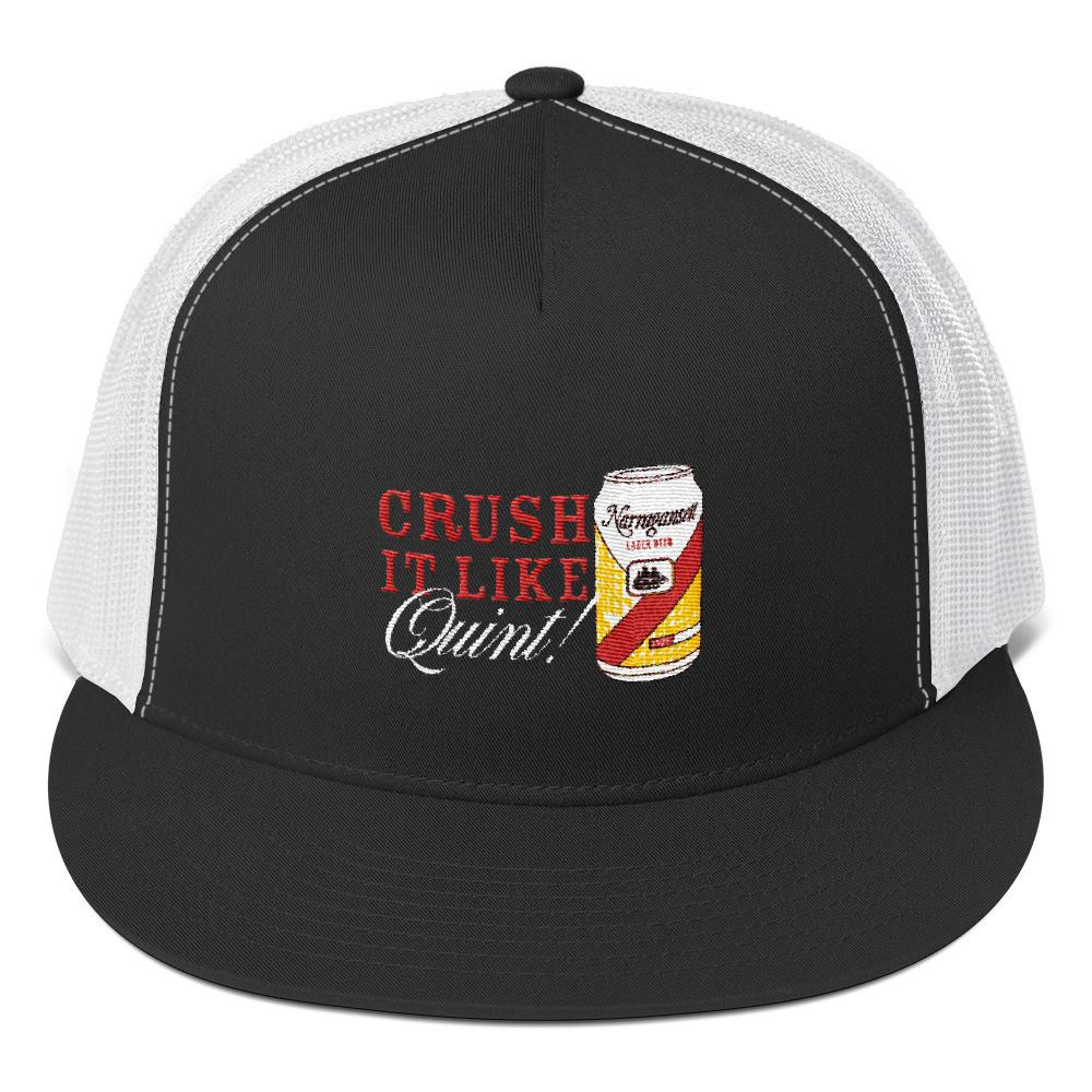 Jaws Crush it like Quint Trucker Cap