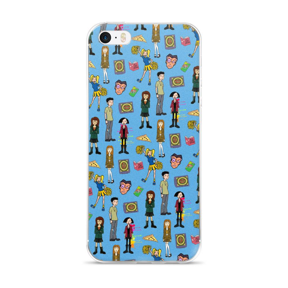 Daria Blue iPhone 5/5s/Se, 6/6s, 6/6s Plus Case