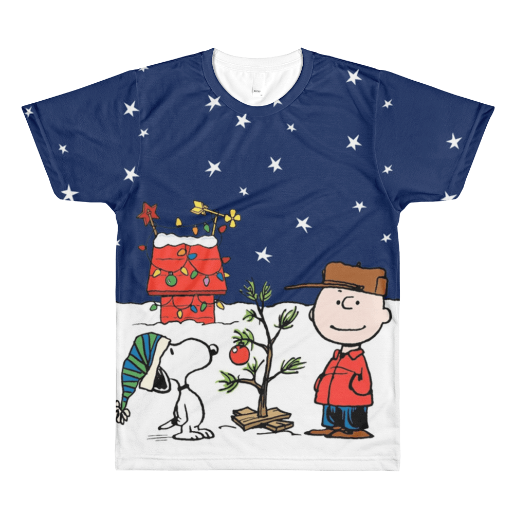 Charlie Brown Tree All-Over  T-Shirt