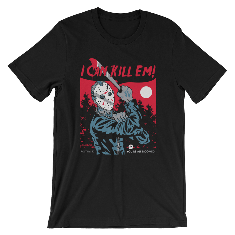 Jason Kill 'EM Short-Sleeve Unisex T-Shirt