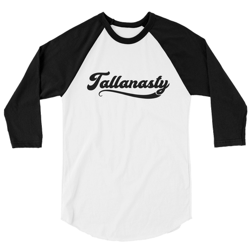 Tallanasty 3/4 sleeve raglan shirt