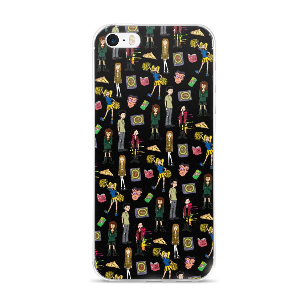 Daria Black iPhone 5/5s/Se, 6/6s, 6/6s Plus Case