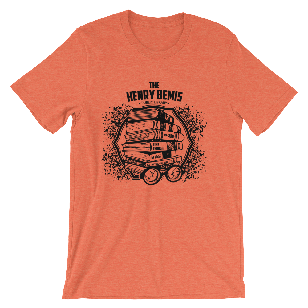 The Twilight Zone Henry Bemis Short-Sleeve Unisex T-Shirt
