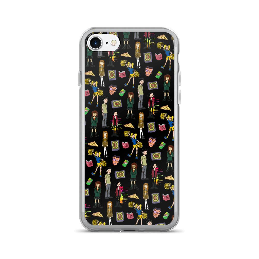Daria Black iPhone 7/7 Plus Case