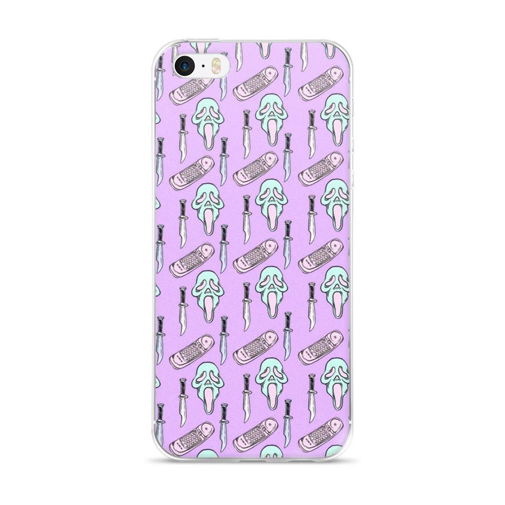 Scream iPhone 5/5s/Se, 6/6s, 6/6s Plus Case