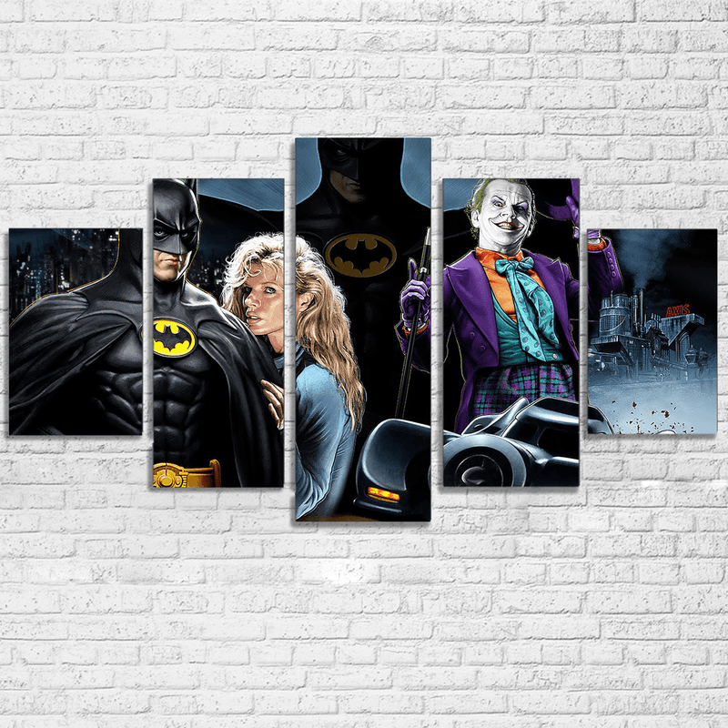 Batman 1989 Canvas - Totally Awesome Retro