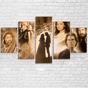 Robin Hood Prince of Thieves Canvas
