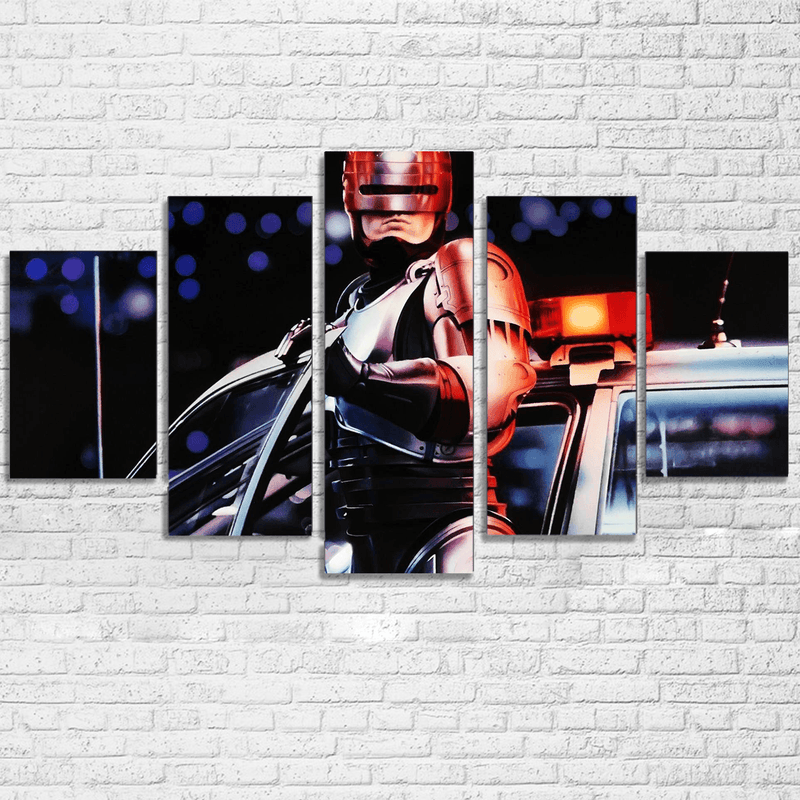 Robocop 5 Piece Canvas Set - Totally Awesome Retro