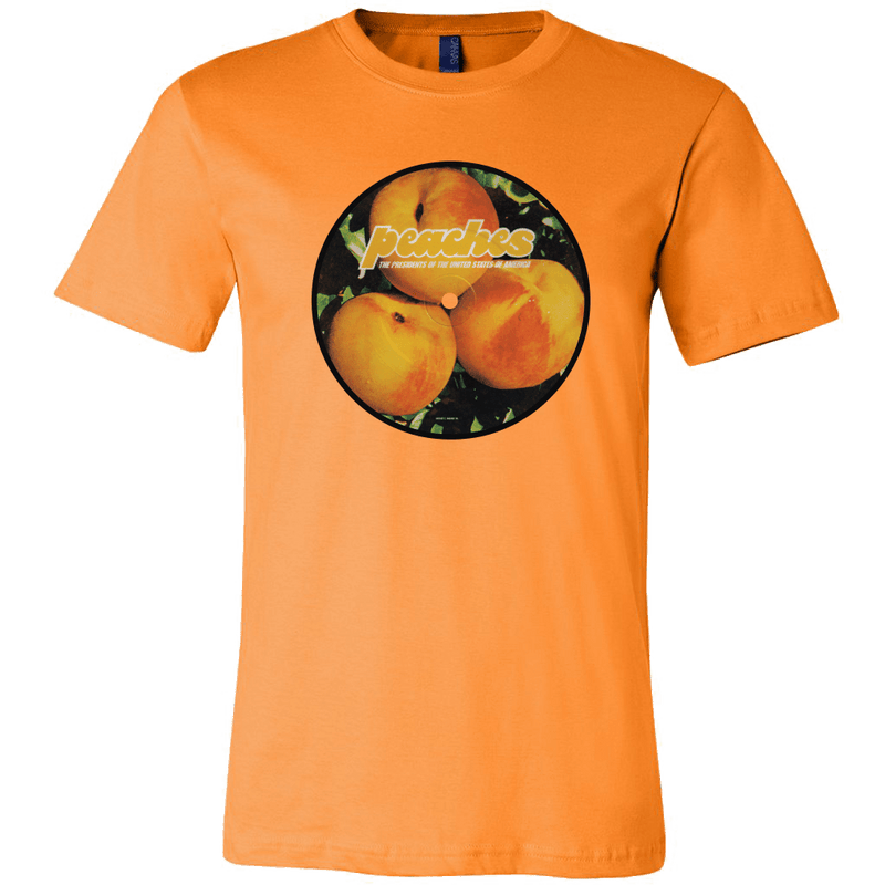 P.O.T.U.S.A Peaches Album Cover T-Shirt - Totally Awesome Retro