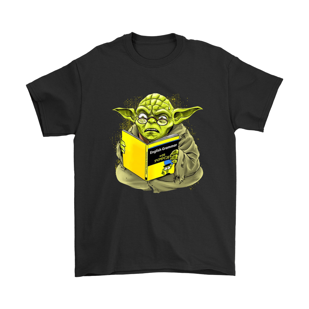 Star Wars - English Grammar Yoda Tshirt