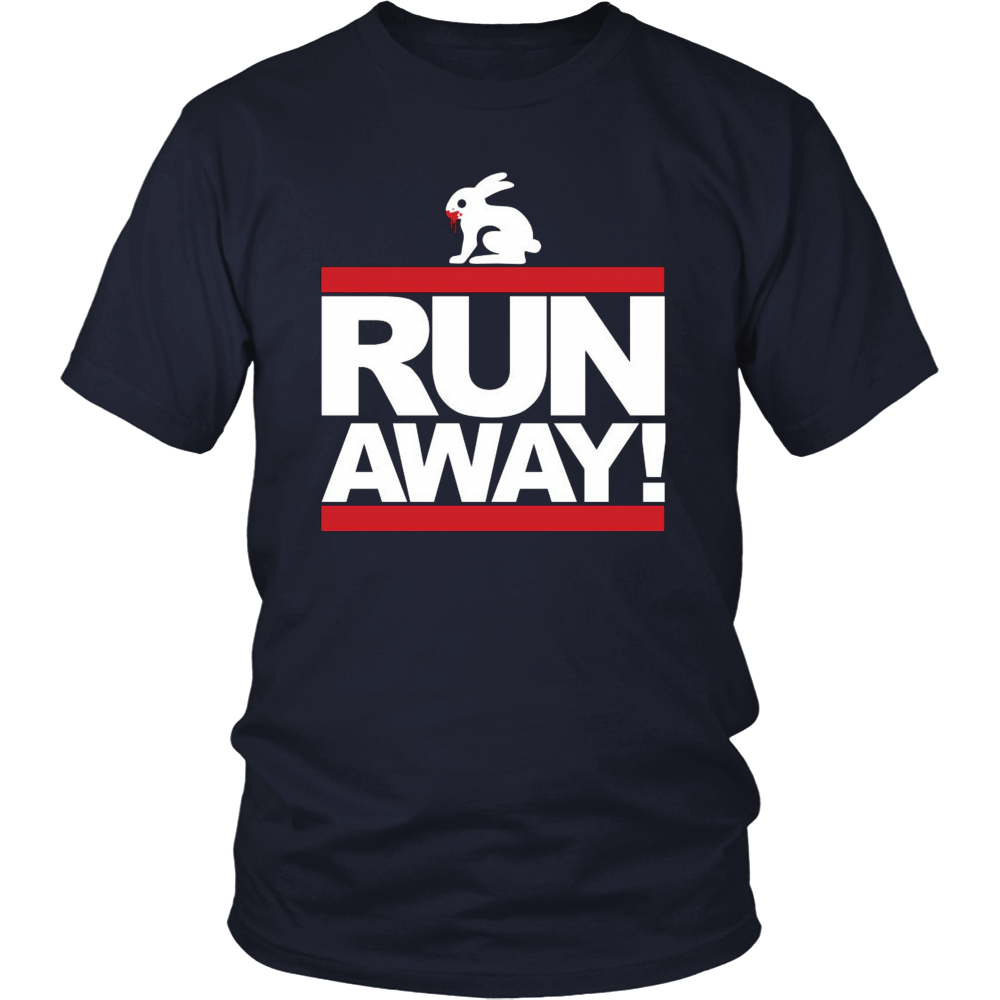 Monty Python RUN AWAY! Shirts