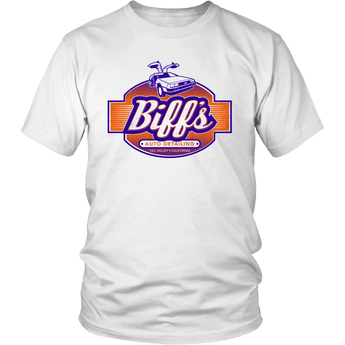 Back to the Future Biff's Auto Detailing Shirts & Hoodies