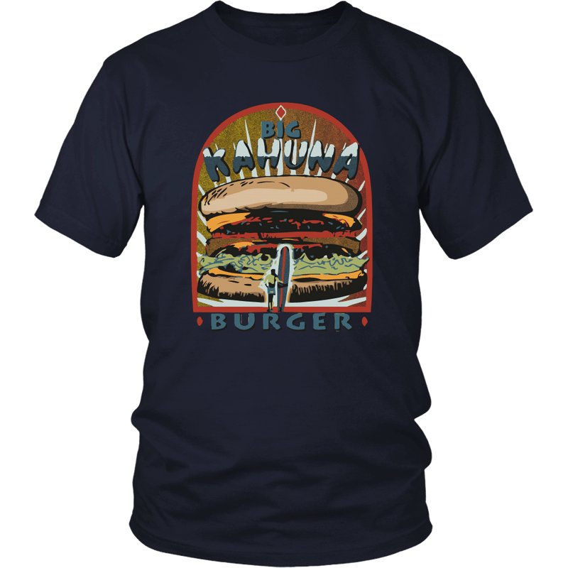 Pulp Fiction-Big Kahuna Burger Tshirt - Totally Awesome Retro