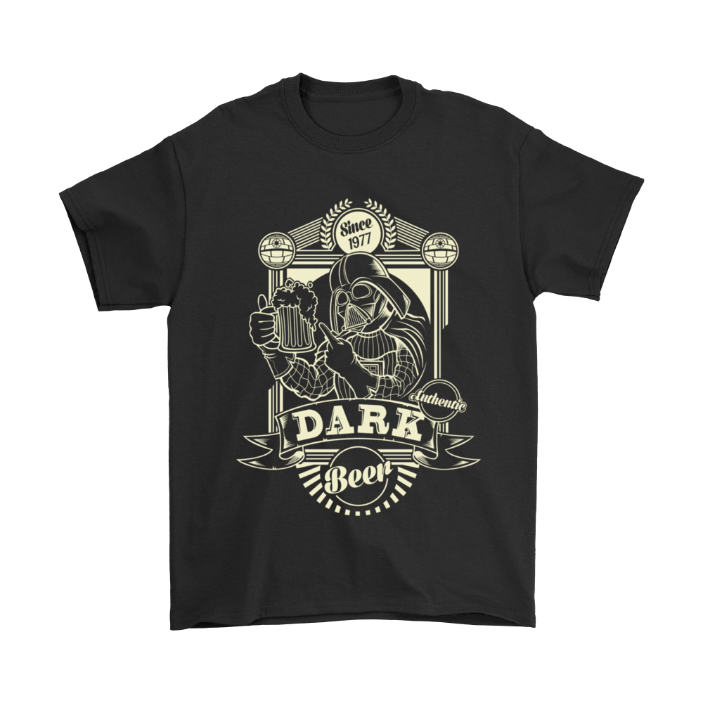 Star Wars - Dark Vader Beer Tshirt - Totally Awesome Retro