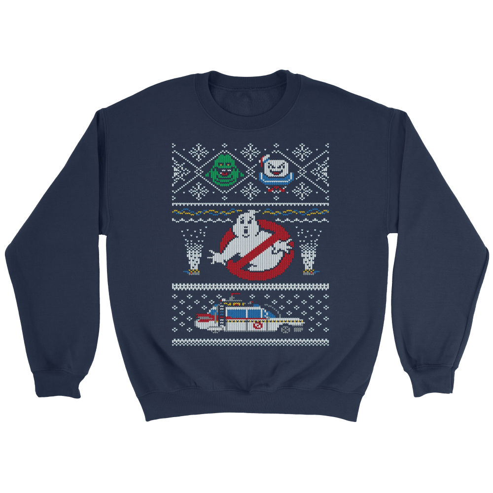 Ghostbusters Ugly Christmas Sweaters – Totally Awesome Retro