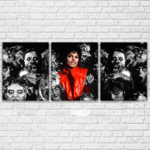 Thriller 3 Piece Canvas Set