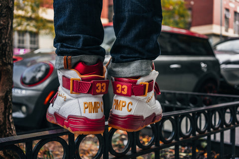 Ewing Athletics Limited Edition Pimp C 33 HI Sneakers